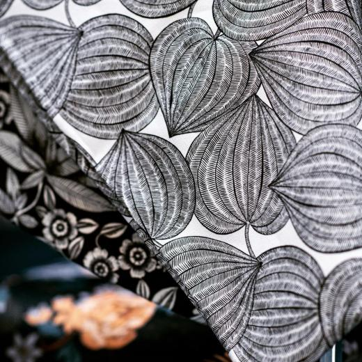 «Harvest» created by the very talented @studio_inkfabrik & printed on a beautiful cotton is coming soon #springsummer #newcollection #creativity #freshstyle #black&white #highquality #frenchlifestyle #prints #set design @anne_pericchidraeger and #photos @anneemmanuellethion