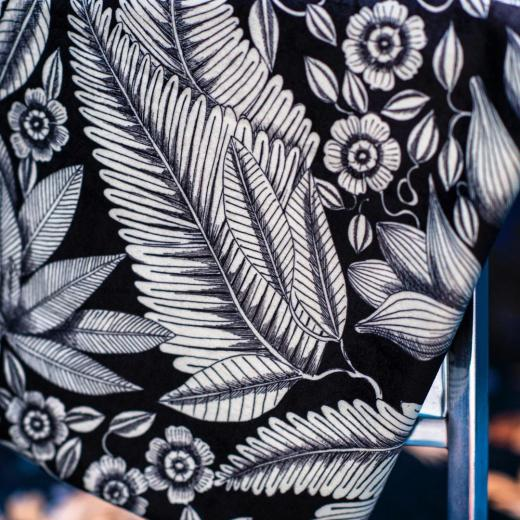 «Crystal» printed on a stunning velvet for curtains & upholstery #springsummer #newcollection #creativity #luxury #frenchlifestyle #prints #setdesign @anne_pericchidraeger and #photos @anneemmanuellethion