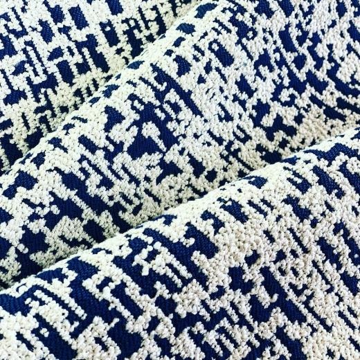 Beautiful Jacquard Bouclé « Dots » for sofas & curtains #newcollection #bouclé #homeinterior #interiordesign #homedecor #highquality #frenchlifestyle