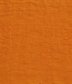 LIN LAVE orange - OEKO-TEX