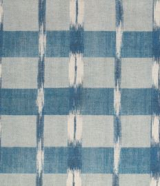 FRENCH IKAT (outdoor) indigo