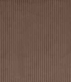 VELOURS COTELE taupe