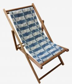 Transat FRENCH IKAT (outdoor) indigo