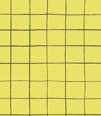 ANAHI noir fond jaune - collection ROBERT LE HÉROS - OEKO-TEX